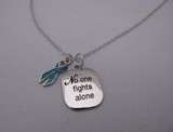 """No One Fights Alone"" Necklace"