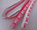 Breast Cancer Awareness Elastic Headbands