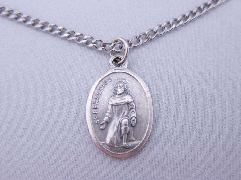 St peregrine medal m of hope st peregrine medal mozeypictures Gallery