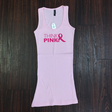 """Think Pink"" Tank Top"