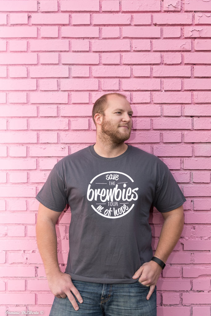 """Save The Brewbies Tour"" T-Shirt"