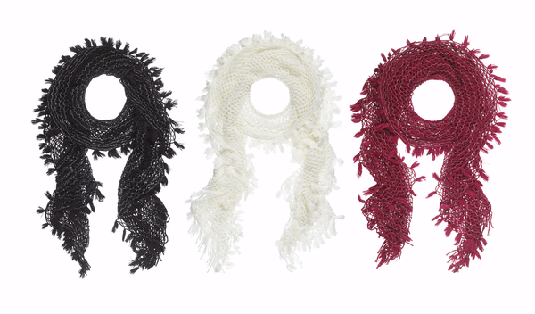 Twist Fringe Scarves