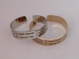 What Cancer Cannot Do Bracelet