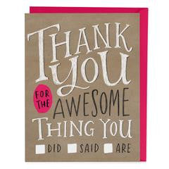 Emily McDowell Thank You Cards
