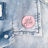 Girl Gang Lapel Pin