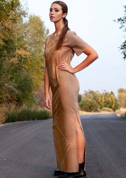 Wanderer Fringed Maxi Dress