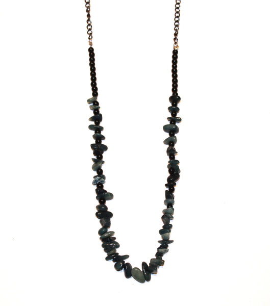 Deep Ocean Stone Necklace