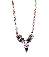 Dark Wild Tribal Shark Tooth Necklace