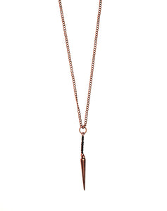 Simply Wild Spike Necklace