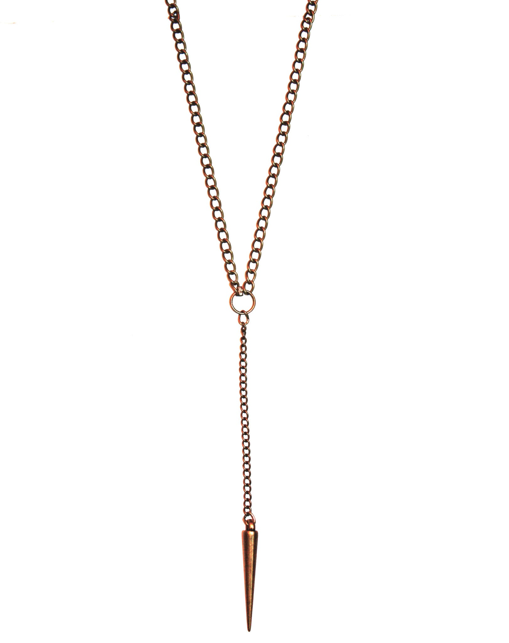 Simply Wild Mini Drop Spike Necklace