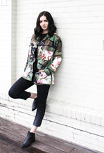 Beautiful Rebellion Camo Floral Jacket