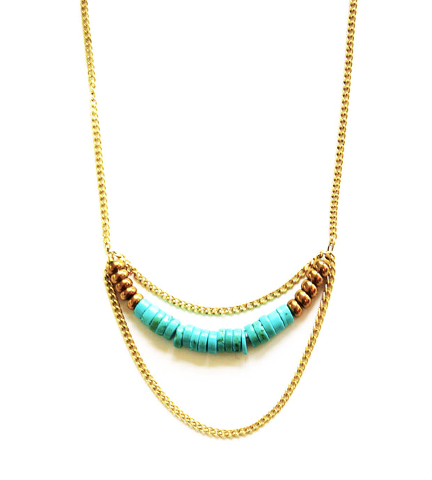 Beautiful Ocean Turquoise Necklace