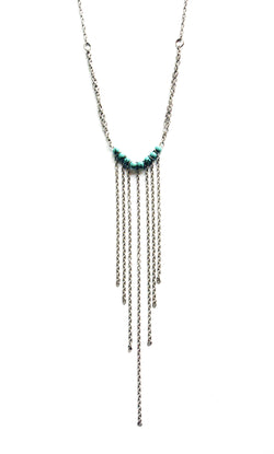 Sunset Rebellion Fringe Necklace