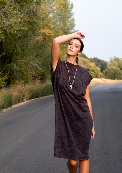Wanderer Oversized Burnout Dress