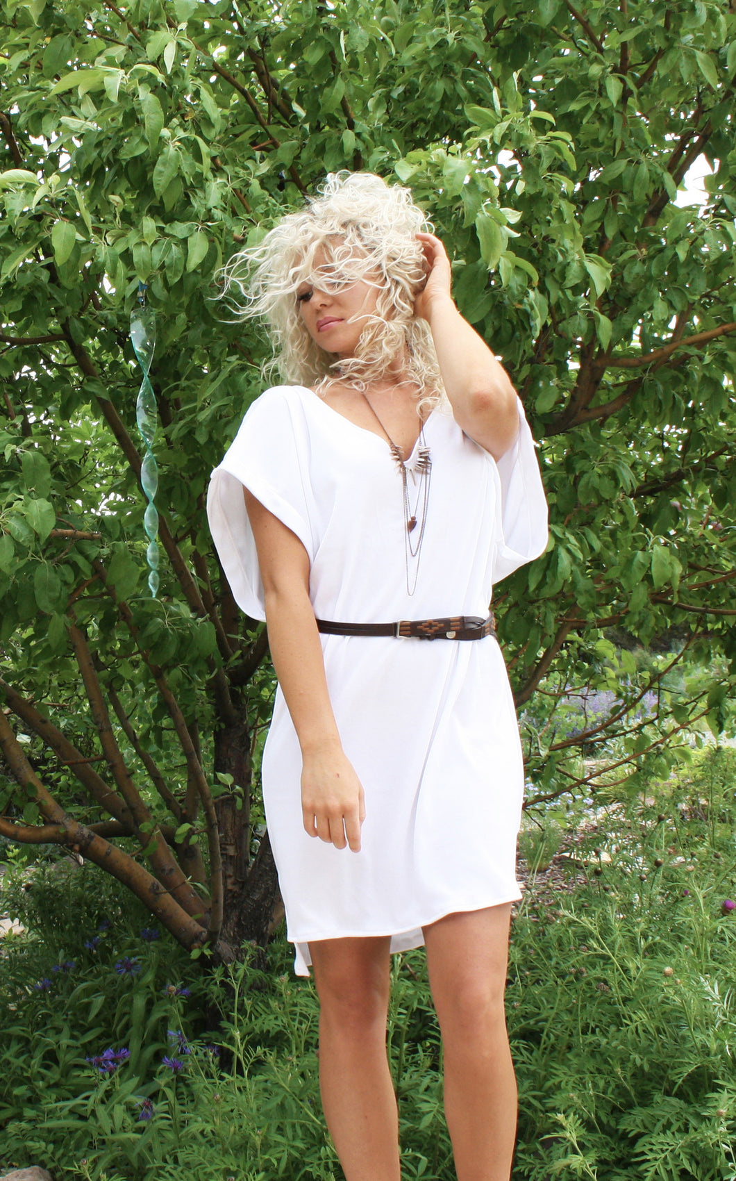 summer love cover-up stretch dress