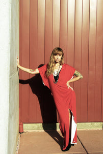 Radical Soul Low V Maxi Dress