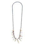 Rebel Rider Shell Fringe Necklace