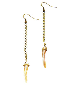 Ocean Thrill Shell Spike Earrings
