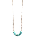Low Tide Turquoise Stone Low Necklace