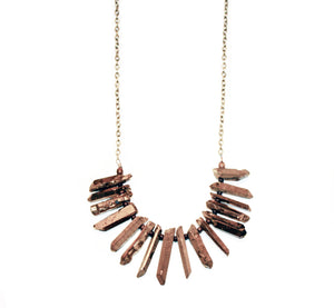 Day Dreamer Rock Fringe Necklace