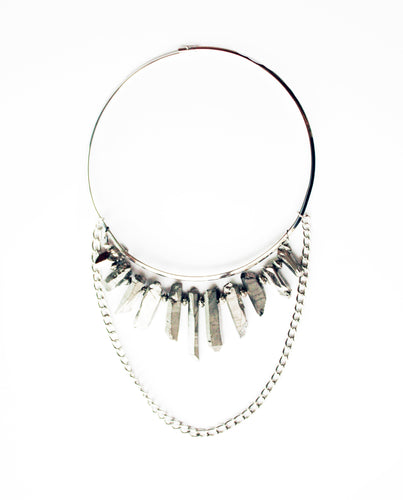 Fierce Rock Fringe Choker