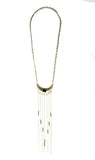 Fierce Chain Fringe Necklace