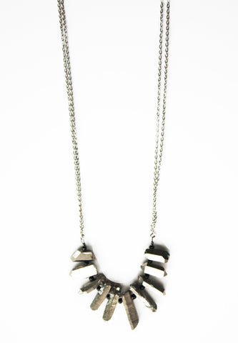 Fierce & Free Rock Fringe Necklace