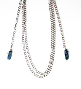 Bold Chain Wrap Necklace