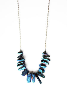 Wild & Wanted Stone Fringe Necklace