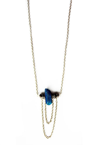 Drifter Stone Cascading Necklace