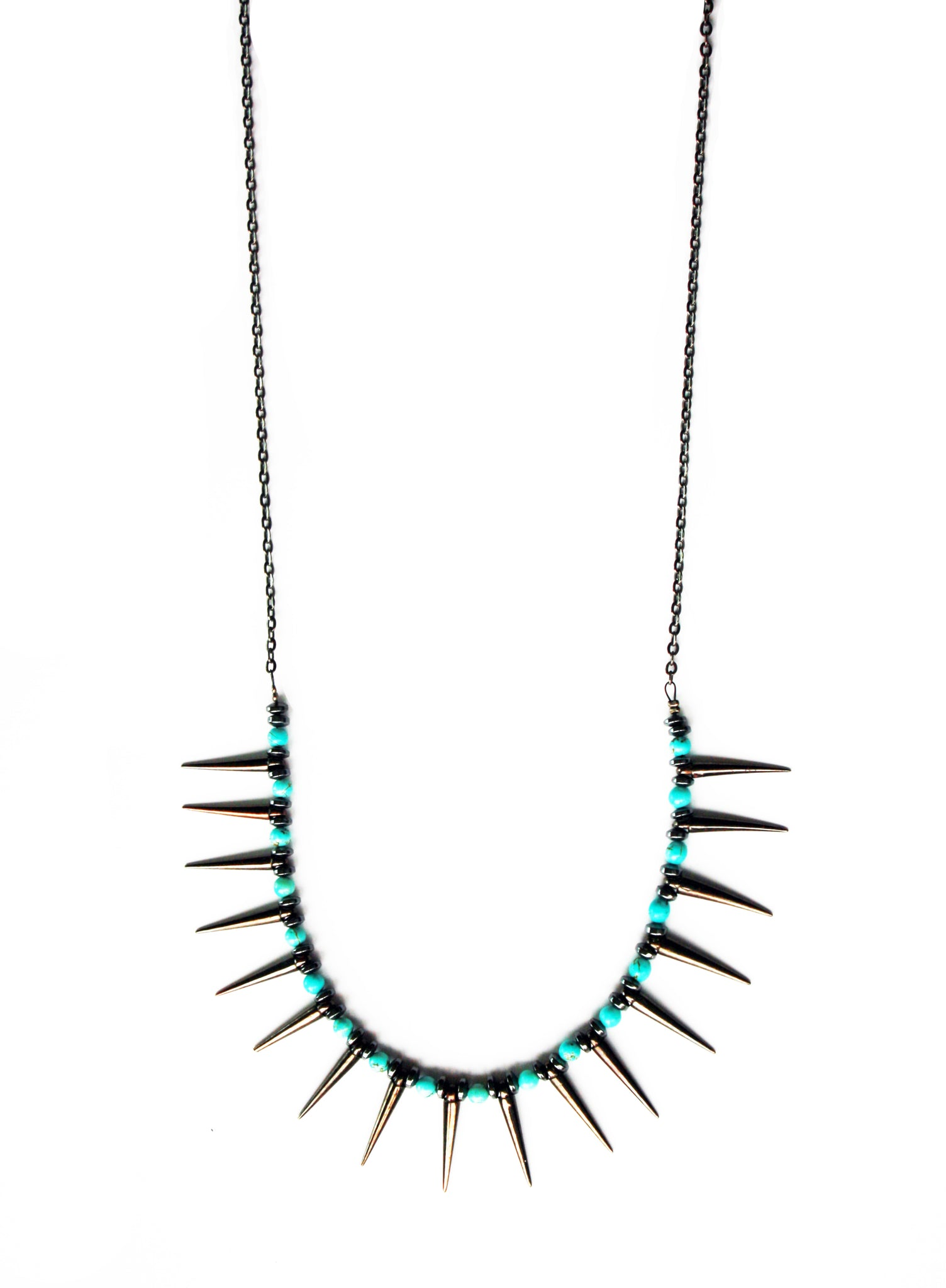 Nightfall Spike Necklace