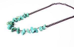 Nightfall Turquoise Necklace