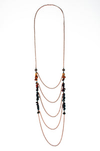 Day Dreamer Cascading Stone Necklace