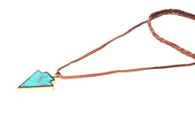 Wild Dreamer Leather Arrow Drop Choker Necklace