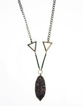 Day Dreamer Triangle Feather Necklace