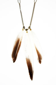Bold Dreamer Feather Necklace