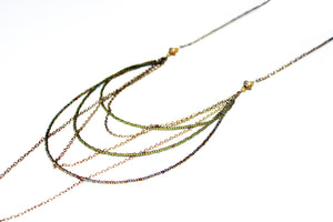 Nightfall Multi-Chain & Bead Layering Necklace