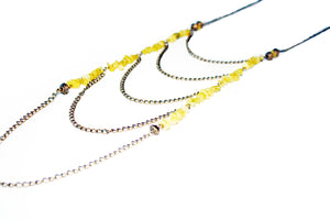 Daring Drifter Stone Cascading Necklace