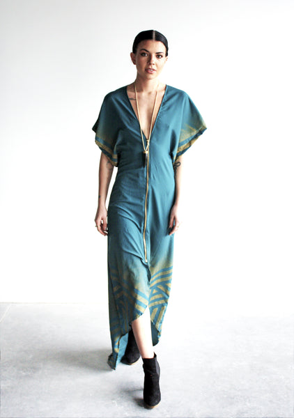 Untamed Low V Maxi Dress
