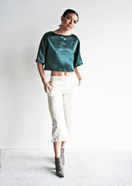 Untamed Fitted Crop Pant