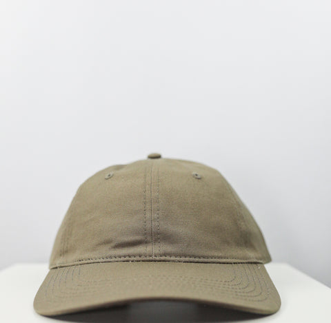 Logo 6 Panel Dad Hat (Tan)