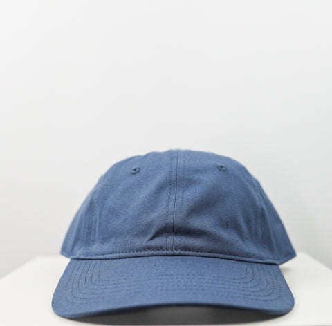 Logo 6 Panel Dad Hat (Petrol Blue)