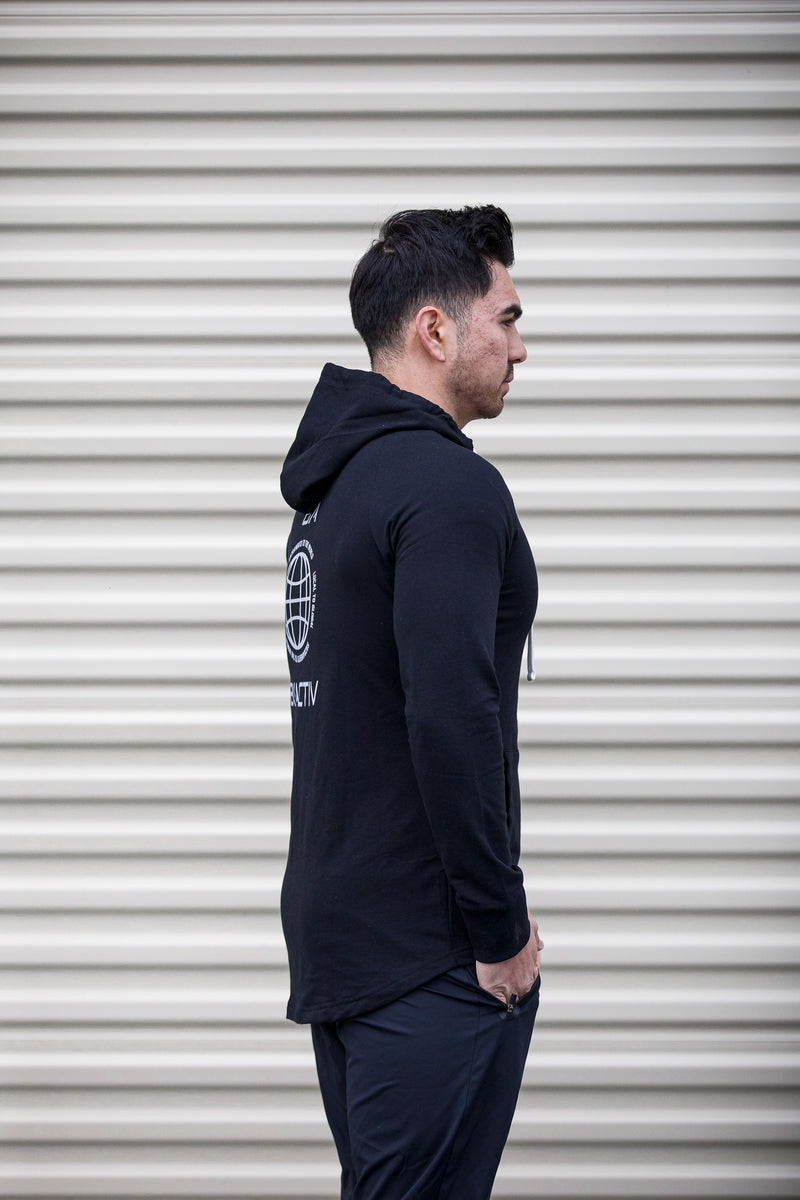Global Scoop Zip-Up Hoodie