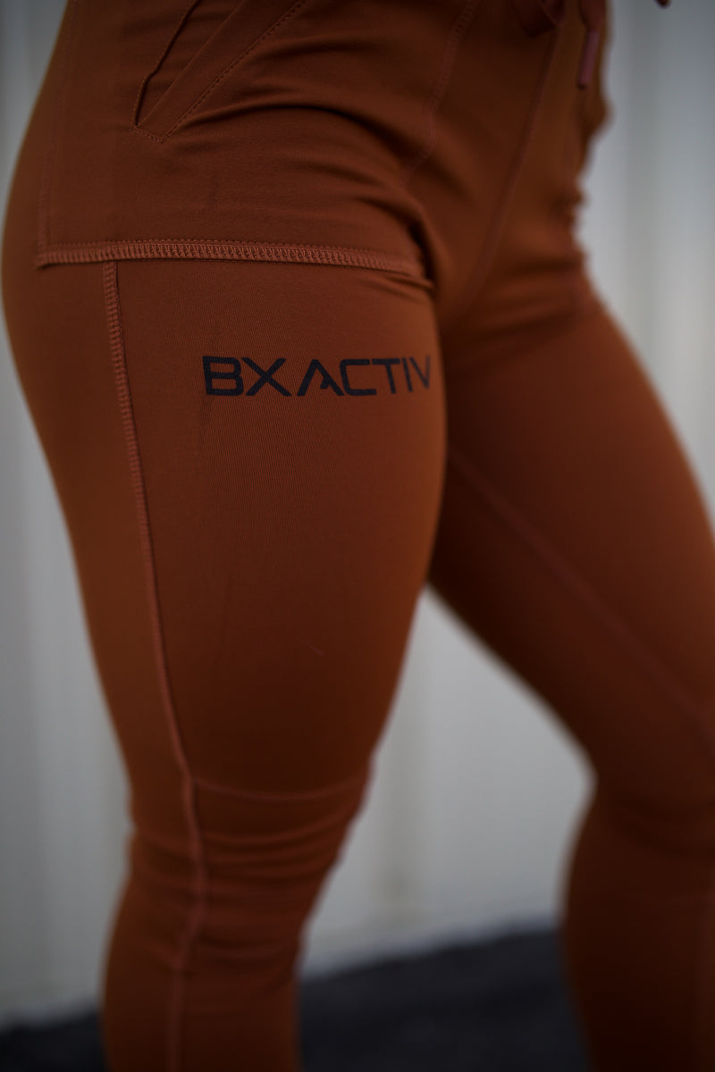 Bxactiv Moto-Joggers (Burnt Orange)