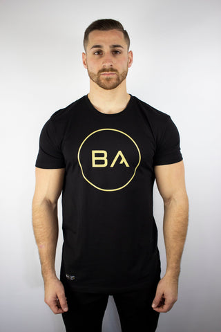 BA Circle Tee (Vegas Gold)