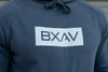 Boxed BXAV Hoodie (Faded Blue)