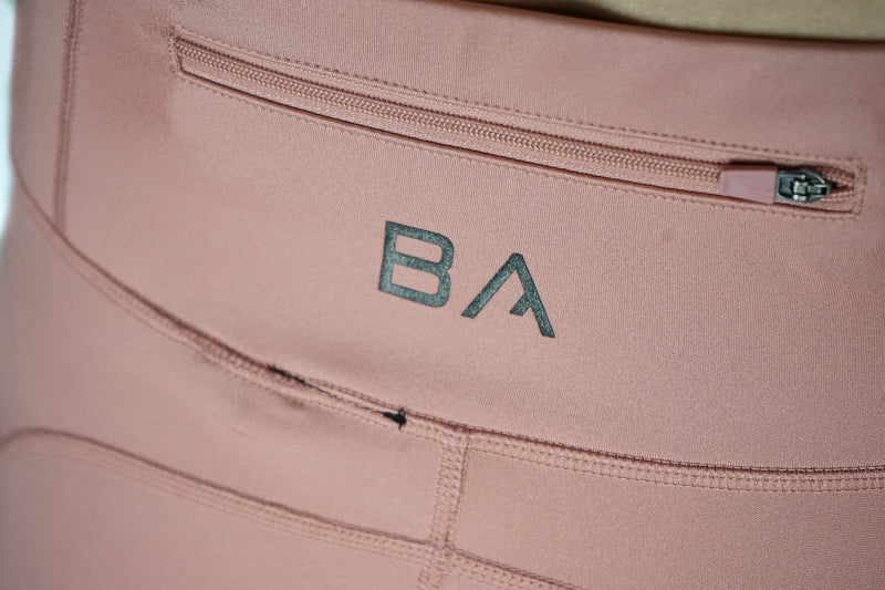 Logo Tech Leggings (Pastel Pink)