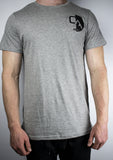 Cali Contrast High-Low Tee (Heather Gray)