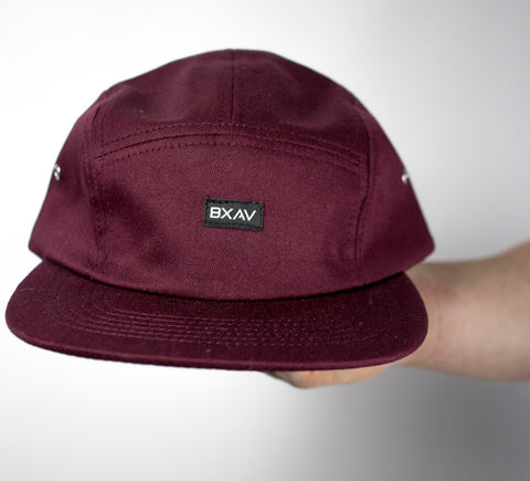 BXAV 5 Panel ClipBack (Maroon)