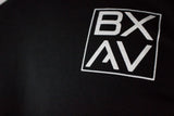 BXAV Stamped Split Hem Long Sleeve (Black)